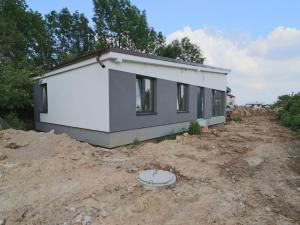 Novostavba rodinného domu, 6,5 árový pozemok, Rudník