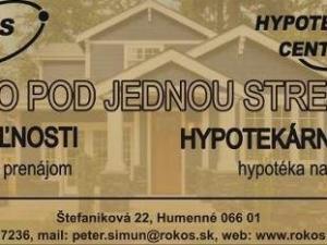 Hľadáme rodinný dom v meste Humenné