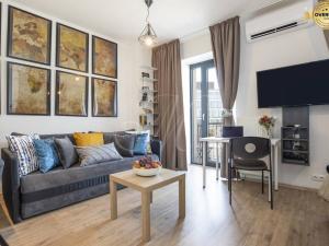 Luxusný 1i byt v novostavbe priamo v centre, klima, balkón