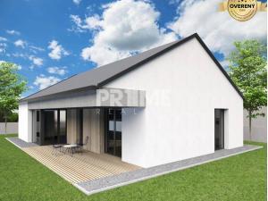 Novostavba 4i RD – typ bungalov, v štandarde, Cífer, len 30 min. od BA
