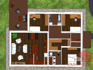 EXKLUZÍVNE*** Rodinný dom Košeca, NOVOSTAVBA NA KĽÚČ - pozemok 700 m2