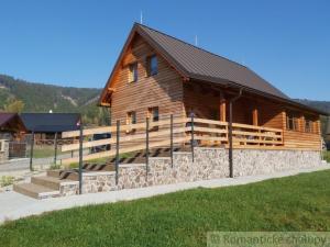 Novopostavená rekreačná chata v krásnom horskom prostredí pri SKI Ráztoka Horná Mariková