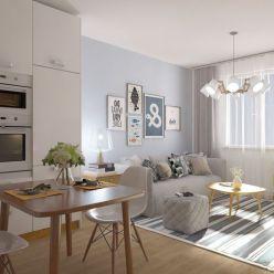 1i byt v novostavbe Zelené Vlčince (D.507)