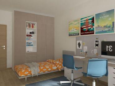 3i byt s dvoma balkónmi Zelené Vlčince /D.204