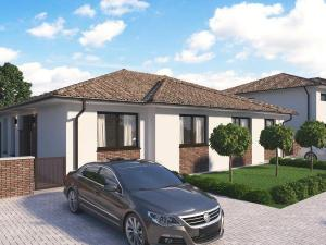 4 izbový rodinný dom v Galante - Novostavba 102 m2 na pozemku 337 m2.