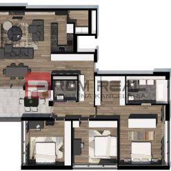 Na predaj 4 izbový byt v Byty Vinice Pezinok - A41