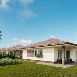 Predáme krásne a priestranné samostatne stojace 4-izbové rodinné domy v Rovinke