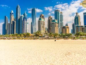 DUBAI - lacno prenájom luxusných apartmánov Marina Beach (pláž)