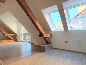 PNORF – novostavba podkrovného 4i bytu, 103 m2, balkón, Staré Mesto – Nitra