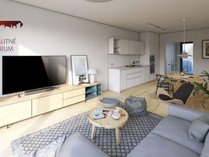 Novstavba 3 - izbových bytov, veľký pozemok, terasa, parkovacie státie 2x, tichá lokalita