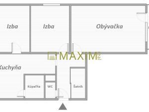 Predám trojizbový byt na Vranovskej ulici