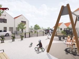 Projekt WHITE PARK Čukárska Paka!! Novostavba 5 - izbových, dvojpodlažných domov, veľký pozemok, ter