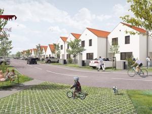 Projekt WHITE PARK ČUKÁRSKA PAKA!! Novostavba 4 - izbových domov, veľký pozemok, terasa, parkovacie
