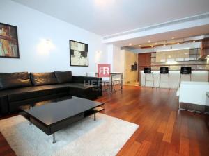 HERR Na prenájom - 2 izbový luxusne zariadený byt s loggiou v Eurovei s rozlohou 87 m2 na Pribinovej