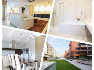 EXKLUZÍVNE na prenájom 4 izbový kompletne zariadený byt,  2 x garážové státie, BA - Ružinov-Rozadol