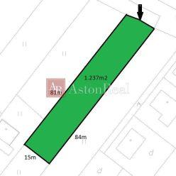 PREDAJ: pozemok na výstavbu RD - 1.237m2, Liptovská Štiavnica
