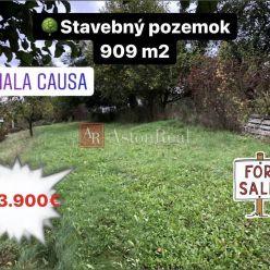 Predaj: Stavebný pozemok 909 m2 Malá Čausa