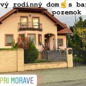 6 izbový rodinný dom s bazénom, pozemok 2076 m2, Vysoka pri Morave