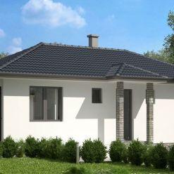 Moderný bungalov za lešiu cenu ako byt takmer v Trnave - 4izb. + 500m2 pozemok s komplet IS