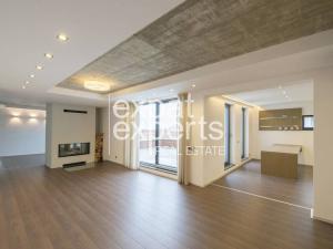 Nadštandardný 4i byt,172m2,nezariadený,2x terasa,parking,krb,ihrisko