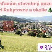 Kúpa: hľadám pre klienta stavebný pozemok v obci Rakytovce a okolí