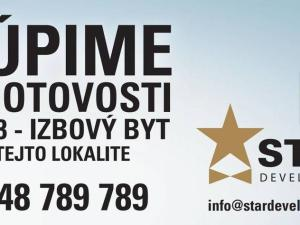 Na kúpu 2 izbový byt (dvojizbový), Bratislava - Dúbravka