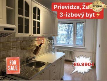 Predaj: 3-izbový byt s loggiou o výmere 82 m2, Prievidza Žabník