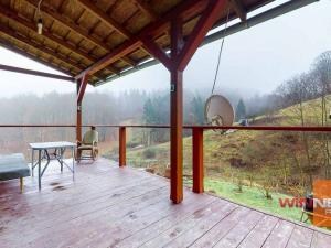 Exkluzívne ponúkame na predaj chalupu osadenú v krásnom prostredí Štiavnických vrchov v obci Vyhne