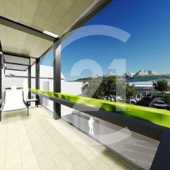 1-izbový byt s terasou NOVOSTAVBA