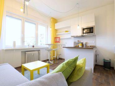 HERRYS - Na prenájom útulný a štýlový byt pri Americkom námestí s krásnym výhľadom na Bratislavský h
