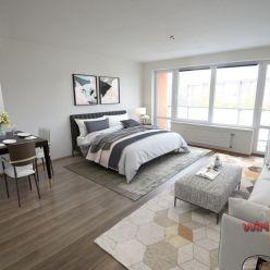 Na predaj veľký 1-izbový byt s loggiou v Rači