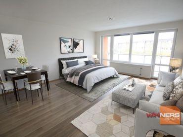 Na predaj veľký 1-izbový byt s loggiou v Rači !!!REZERVOVANÉ!!!