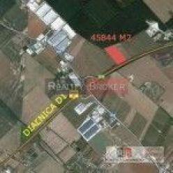 Predaj pozemku na priemyselné účely - Senec - logistika