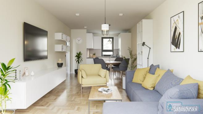 2 izbový byt s predzáhradkou a terasou v tichej časti mesta (G1)