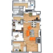AFYREAL predaj 3izb atypický tehlový byt 109m2 senec