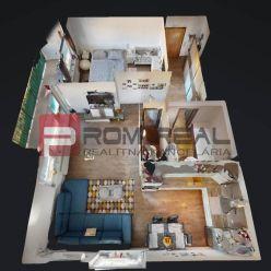Na PREDAJ 2 izbový byt v Slovenskom Grobe s krásnym výhľadom