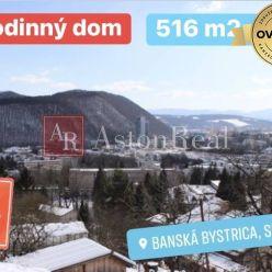 Pripravujeme na predaj: veľký rodinný dom v B. Bystrici - Graniar
