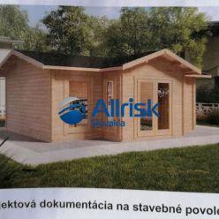 Pozemok s projektom plánovanej záhradnej chaty na predaj.