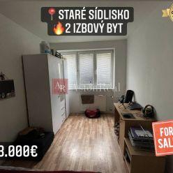 Predaj: 2 izbový byt, 49 m2, Prievidza, Staré Sídlisko