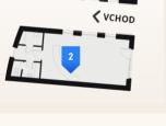Voľné Obchodné priestory 42m2 a 64m2-Hornopotočná