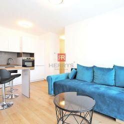 HERRYS - Na prenájom kompletne zariadený 3 izbový byt v novostavbe Urban Residence s garážovým státí