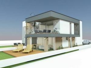 3-izbový byt v rodinnej vile s terasou a priestrannou záhradou, Stupava