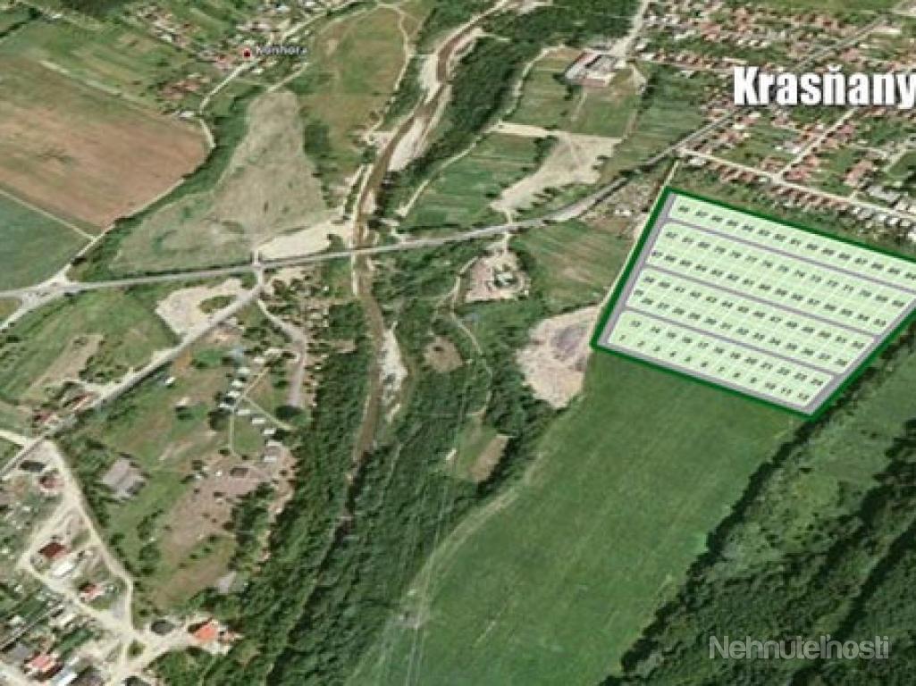 Pozemky Krasňany