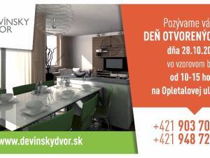 2 a 3 izbové byty v Devínskom Dvore Novostavba Bratislava IV - Devínska Nová Ves