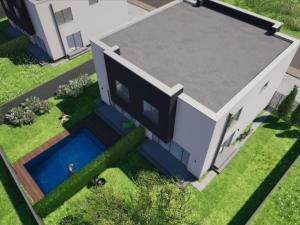 Moderný murovaný dom s vlastným pozemkom v Malom Raji