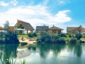 Most pri Bratislave - Zelená voda - Rekreačné domy