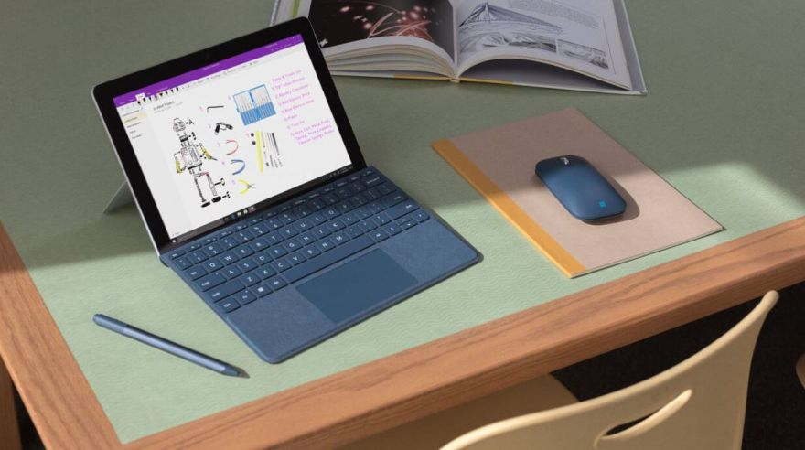 Surface Go od Microsoftu.