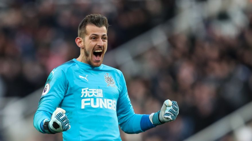 Martín Dúbravka po debute za Newcastle United