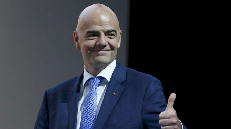 Gianni Infantino prezident FIFA alright feb16 TASR
