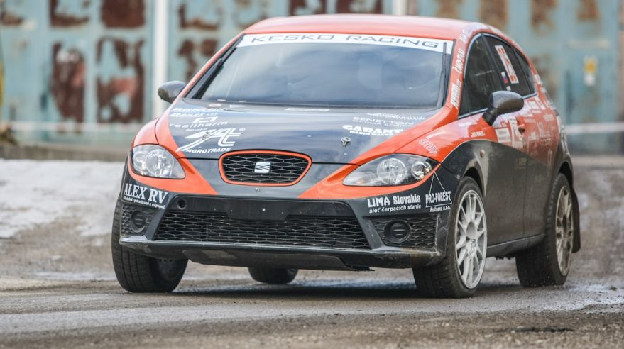 Kesko Racing, Seat, Rally Dobsina, Feb2016